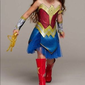 Ultimate Wonder Woman Costume for Girls size Small